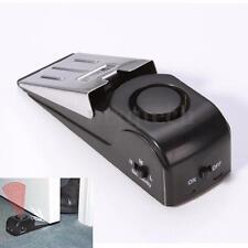 Security Door Stop Stopper Floor Doorstop Rubber Warning Alarm System Wedge Home