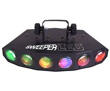 New Chauvet SWEEPER LED multi-beam effect tri-color LED color chases & sequences