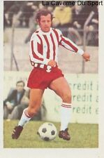 N°005 RENE LE LAMER # AC.AJACCIO STICKER AGEDUCATIF FOOTBALL MATCH 1973