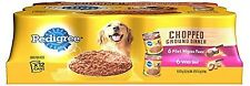 Pedigree Wet Foods Traditional Ground Dinner Filet Mignon 12 Count Multipack