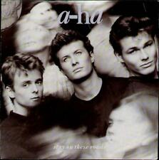 "A-HA Stay On These Roads  7"" Orig Uk Issue Vinyl Single, Ps, B/W Soft Rains Of A"