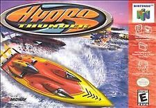 ***HYDRO THUNDER N64 NINTENDO 64 GAME COSMETIC WEAR~~~