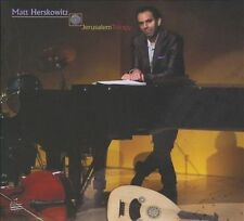 Jerusalem Trilogy, Matt Herskowitz (new CD, Aug-2010, Justin Time)
