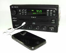 Crown Vic Grand Marquis AM FM CD Radio with Aux Port for iPod Smartphone & More