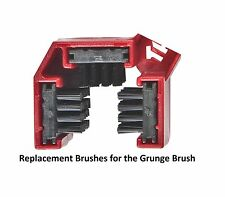 The Grunge Brush Chain Cleaner Replacement Brushes Bristles