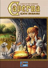 CAVERNA BOARD GAME + PROMO SHEET NEW FACTORY SEALED THE CAVE FARMERS