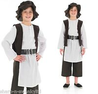 Boys Deluxe Tudor Shakespeare Historical Book Day Fancy Dress Costume Outfit