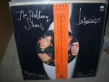 ROLLING STONES interview / precious stones ( rock ) - japan obi - TOP COPY