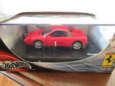 Hot Wheels 1/43 Diecast  Ferrari 348 TB Red In Box