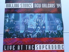 Rolling Stones -new orleans 94 live at the superdome-rare original tsp 2 cd set