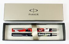 2 x Parker Vector EURO 2004 Portugal Rollerball Pens. Special Editions. NEW