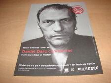 DANIEL DARC - CONFIDENCIEL !!!!!!!!!!!!!!!!! RARE FLYER