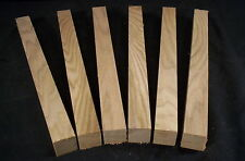 "6 pc  Dry Butternut  1  x 1  x  12""  Carving Lathe Turning Wood Craft Pen Blank"