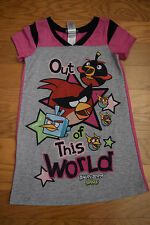 Angry Birds Girls Short sleeve, Gown size Small (4/6), Pink, Pajamas, PJs