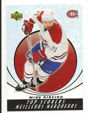 05-06 UD Upper Deck McDonalds Mike Ribeiro Top Scorers Insert Card #TS8 Mint