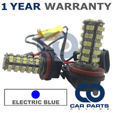 2X CANBUS BLUE H11 60 SMD LED DIPPED BEAM BULBS FOR HONDA CR-Z MAZDA 5 CX-5 CX-9