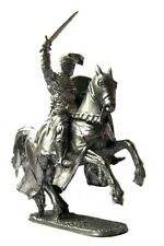 Lead soldier toy,Knight Crusade ,on the horse,collectable,rare,gift,detaile