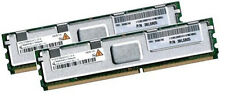 2x 2GB 4GB RAM IBM BladeCenter HS21 XM 667 Mhz FBDIMM DDR2 Fully Buffered