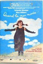 DVD QUAND LA MER MONTE - Yolande MOREAU / Wim WILLAERT