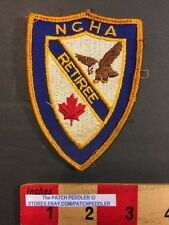 Vintage Camping Patch Retiree NCHA NATIONAL CAMPERS HIKERS ASSOC. 59KK ex