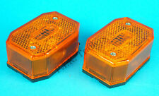 2 x Aspock Flexi Point Amber Side Marker Lamp Ifor Williams Brian James Trailers