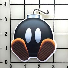 "Mario Bomb 3"" Wide Color Vinyl Decal Sticker - BOGO"