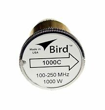 Bird 1000C Plug-in Element 0 to 1000 watts 100-250 MHz for Bird 43 Wattmeters