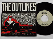"The OUTLINES Crimson baby/Wise girl FRENCH new wave 7"" 45 ZAP ZAP Records -NMINT"