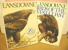 Lansdowne Birds of the West Coast in Two Volumes HB/DJ