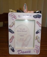 It's All About Dance Picture Frame Dance Shoes by Enesco 103050 – Brand New