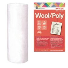 Matilda's Own 60/40 Wool/Poly Quilt Batting Wadding 2.4metres wide x 3.5 metres