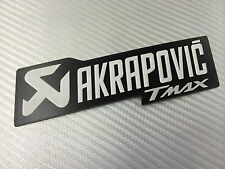 Adesivo Stickers AKRAPOVIC Tmax T max black Alte Temperature High Temperatures