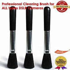 3X Lens Cleaning Brush System,Cleans all Camera Lenses,Telescopes,Binoculars,LCD