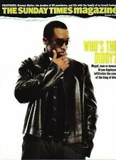 P Diddy on UK Magazine Cover 2006 Puff Daddy