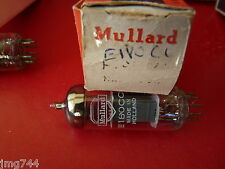 E180CC MULLARD HOLLAND GOLD PINS  NEW OLD STOCK  VALVE TUBE O15