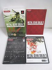 PlayStation2 -- METAL GEAR SOLID 3 SUBSISTENCE First Limited -- PS2. JAPAN.45030