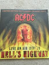 AC/DC - HELL's HIGHWAY LIVE ON AIR 1974 / 79 - ORANGE VINYL  LP  NEW / SEALED