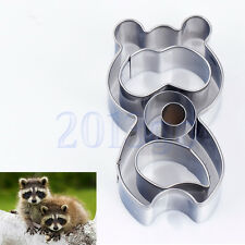 Cute Raccoons Sandwich Toast Cutter Bread Mould Cake Cookie Mold Mould YG