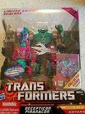 BBTS Exclusive Deception Piranacon G1 transformers TFCC