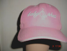 Womens-Ladies-Teen Girls-Pink-Baby Phat -Adjustable Velcro-Back-Baseball Hat Cap