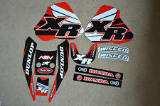 TEAM HONDA GRAPHICS XR250 XR400 1996 97 98 99 2000 2001 2002 2003 2004 XR