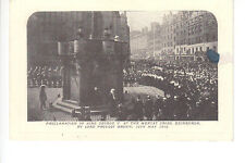Proclamation of King George V at Mercat Cross, Edinburgh by Lord Provost Brown