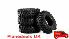 RC ROCK CRAWLER TYRE SET of 4 108mm dia  AXIAL SCX10 CC01 tires  T5
