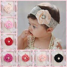 10pcs Kids Baby Girl Toddler Cute Flower Headband Hair Band Headwear Accessories