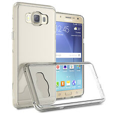 CoverON for Samsung Galaxy J7 (2016) Case Slim Hybrid Hard Phone Cover Clear