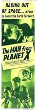 THE MAN FROM PLANET X Movie POSTER 14x36 Insert B Robert Clarke Margaret Field