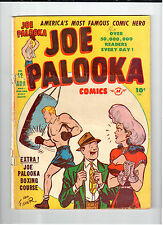 Harvey JOE PALOOKA COMICS Vol 2 #12 Aug 1947 vintage comic AG Black Cat text pg