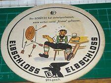 sottobicchiere beer mats birra bierdeckel ELBSCHLOSS  HUMOR SAGITTARIO