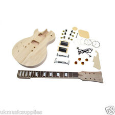 LP HY 222 LEFT HANDED DIY Guitar kit By Coban Big choice of top kits A1