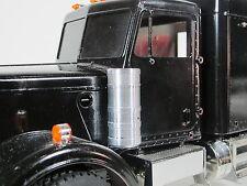 Pair Simulate Aluminum LR Air Cleaner Intake Can Tamiya RC 1/14 Semi King Hauler
